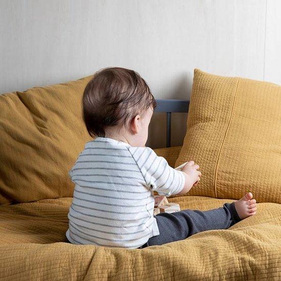 Little Dutch Cot blanket Pure & Soft- Pure Ochre - Little Dutch
