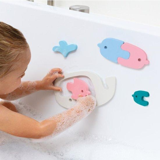 Quut Badespielzeug Badepuzzle Wal - Quutopia