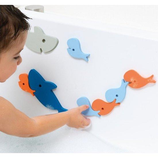 Quut Bath toy bath puzzle shark - Quutopia