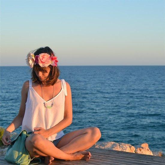 MamiBB Bijtjuweel halsketting Capri - MamiBB