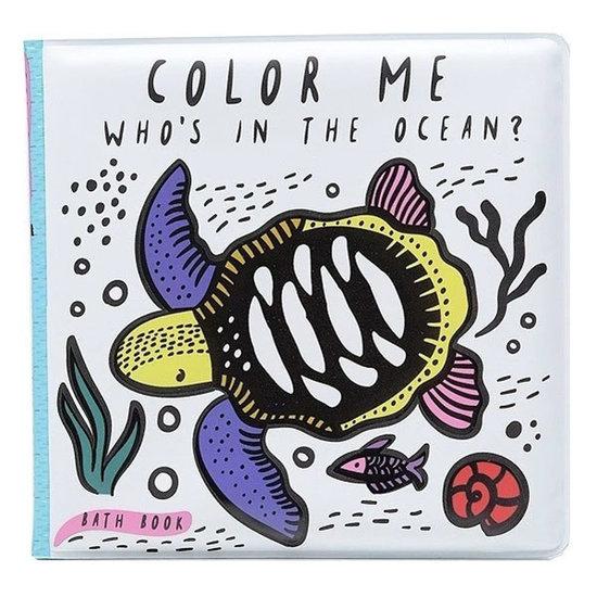 Wee Gallery Badboekje - Color Me Ocean - Wee Gallery