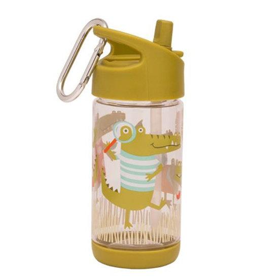 Sugar Booger Trinkflasche Flip Sip Ollie Gator - Sugar Booger