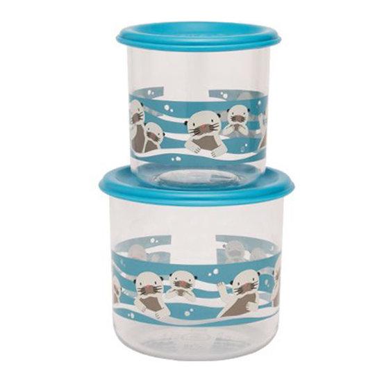 Sugar Booger Snackdoosjes Baby Otter - Large - Sugar Booger