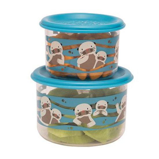 Sugar Booger Snackdoosjes Baby Otter - Small - Sugar Booger