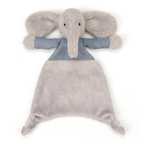 Jellycat Knuffeldoekje Jumble Elephant - Jellycat