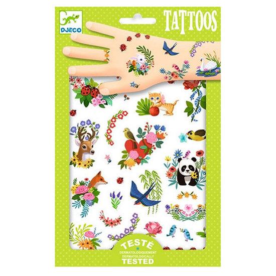Djeco Tattoos Happy Spring - Djeco +3 Jahren