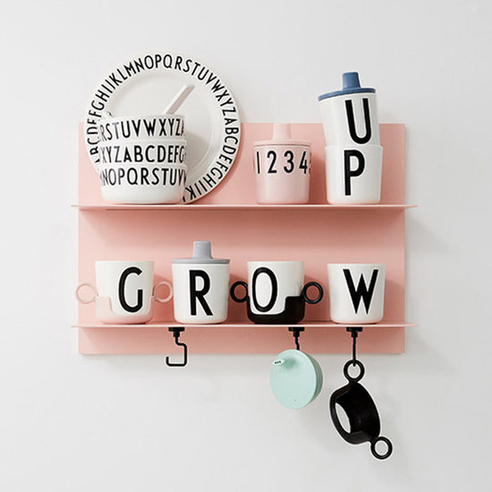 Design Letters Design Letters drinktuit voor melamine beker grijs
