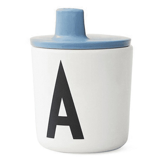 Design Letters Design Letters drinktuit voor melamine beker blauw