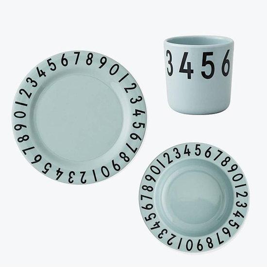 Design Letters Servies Numbers mint - Design Letters