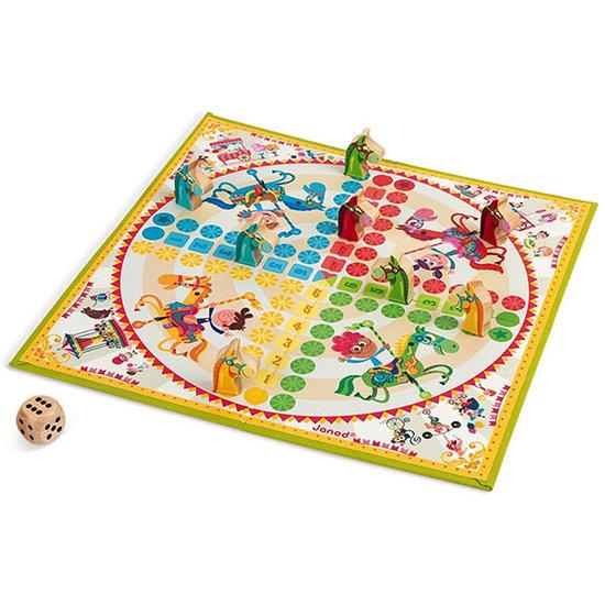 Janod speelgoed Mens-erger-je-niet Carrousel - Janod