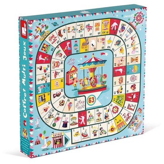 Janod houten speelgoed Multi-games box set Carrousel - Janod