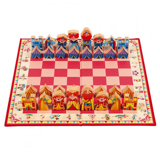 Janod speelgoed Chess game Carousel - Janod