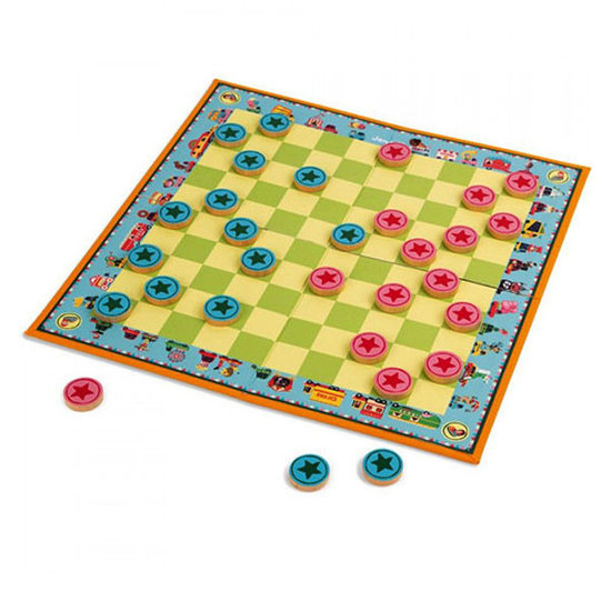 Janod speelgoed Draughts Carousel - Janod