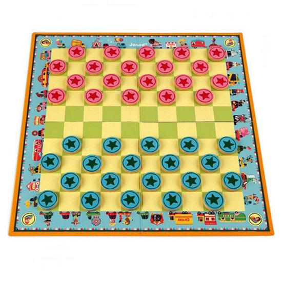 Janod speelgoed Damspel Carrousel - Janod