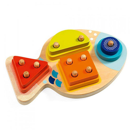 Djeco Stacking game 1, 2, 3, 4 Bloop - Djeco