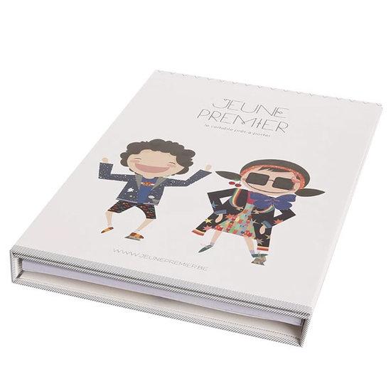 Jeune Premier boekentas Coloring book Jack & Penelope - Jeune Premier