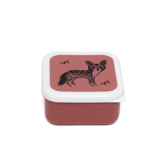 Petit Monkey Lunch box set Black animals - Petit Monkey