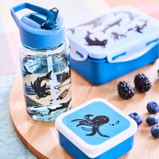 Petit Monkey Drinkfles Sea animals - Petit Monkey