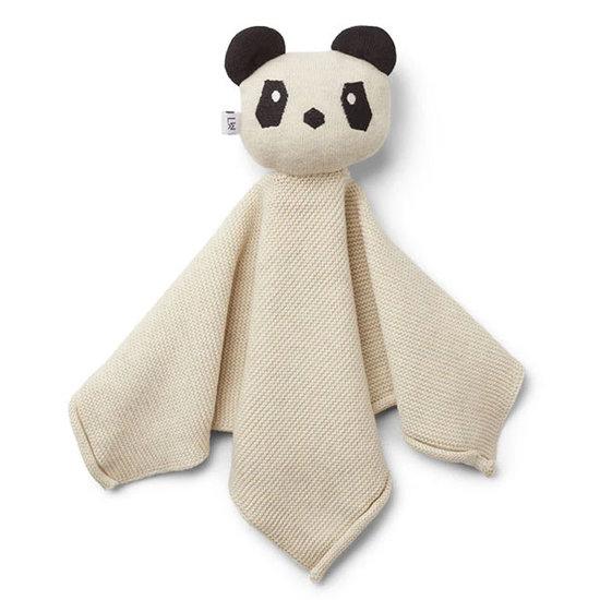 Liewood Doudou - knuffeldoekje Milo panda beige beauty - Liewood