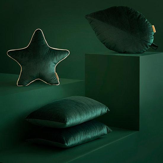 Nobodinoz tipi en accessoires Star cushion Aristote Jungle Green Nobodinoz