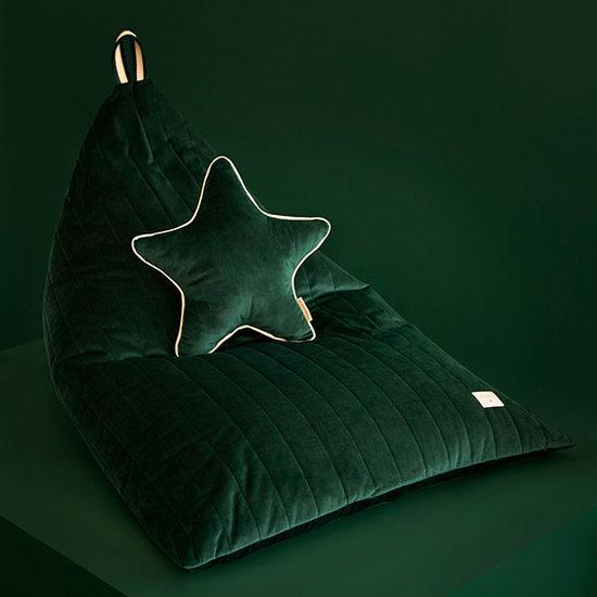 Nobodinoz tipi en accessoires Sternenkissen Aristote Jungle Green Nobodinoz