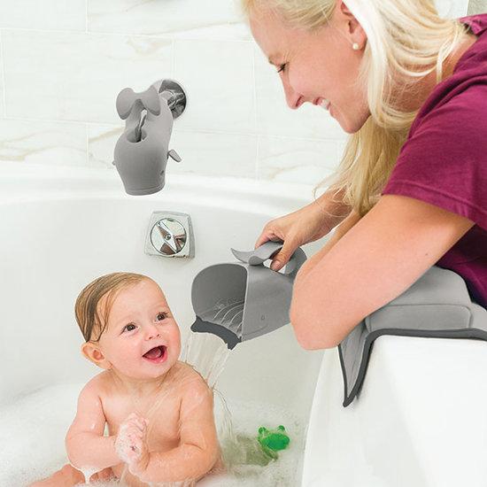 Skip Hop Waterfall bath rinser Moby the Whale grey Skip Hop