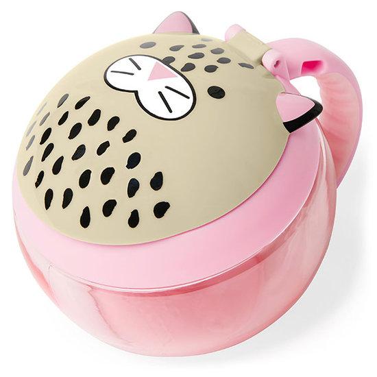 Skip Hop Skip Hop snack box snack cup leopard