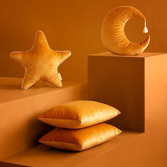 Nobodinoz tipi en accessoires Sternenkissen Aristote Farniente Yellow Nobodinoz