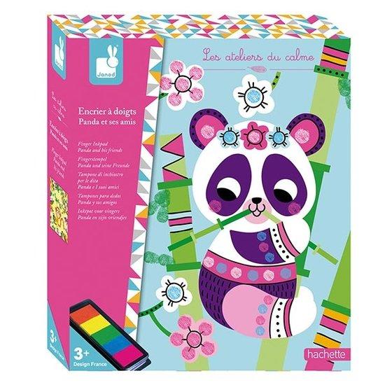 Janod speelgoed Knutselpakket vingerverf panda - Janod