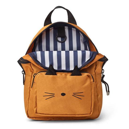 Liewood Backpack Saxo mini Cat mustard - Liewood