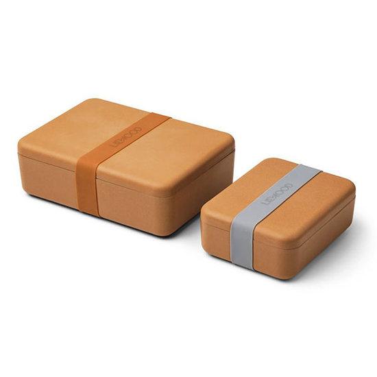Liewood Boîtes à tartines Bradley Mustard - Liewood