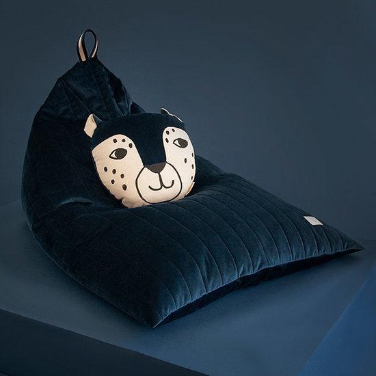 Nobodinoz tipi en accessoires Beanbag Essaouira Night Blue Nobodinoz