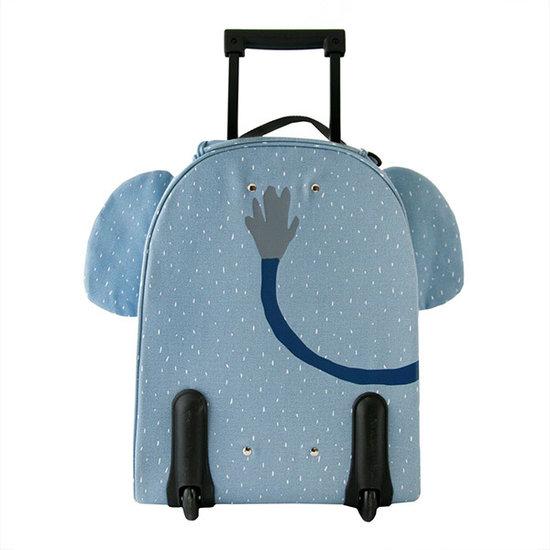 Trixie Baby Valise trolley de voyage Mme Elephant - Trixie