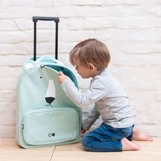 Trixie Baby Valise trolley de voyage M. Ours polaire - Trixie