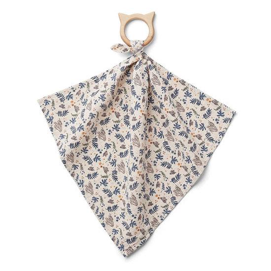Liewood Doudou avec anneau de dentition Coral Floral - Liewood