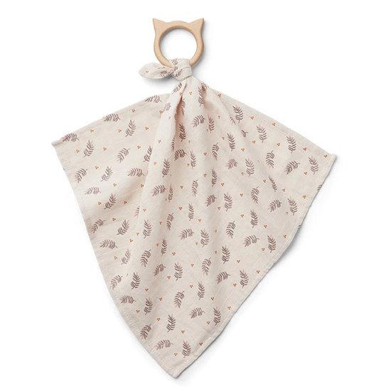 Liewood Cuddle cloth with teether Fern Rose - Liewood
