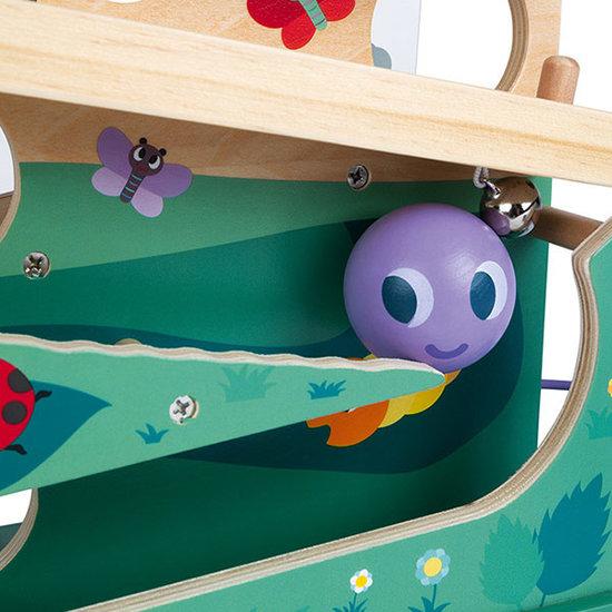 Janod speelgoed Ballenbaan rups - Janod