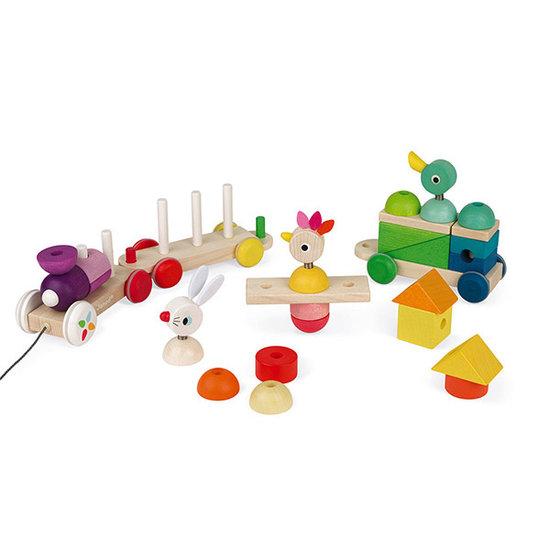 Janod speelgoed Trein Zigolos - Janod
