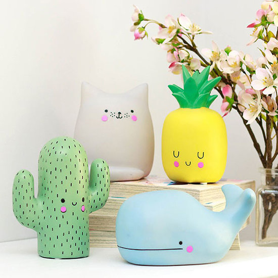 Disaster Designs Night light mini cactus kawaii Disaster Designs
