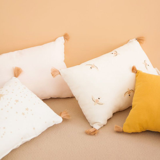 Nobodinoz tipi en accessoires Kussen Sublim Gold Stella-White - Nobodinoz