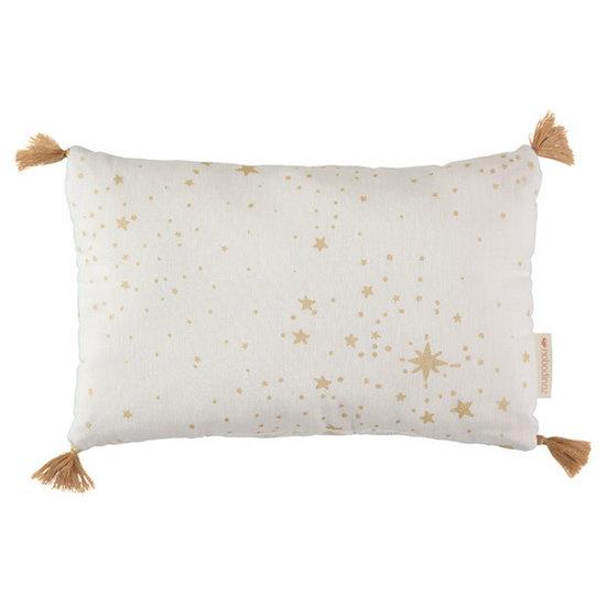 Nobodinoz tipi en accessoires Kissen Sublim Gold Stella-White Nobodinoz