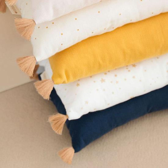 Nobodinoz tipi en accessoires Kussen Sublim Farniente Yellow - Nobodinoz