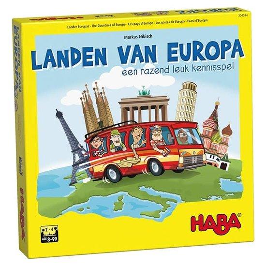 Haba Leerspel Landen van Europa - Haba