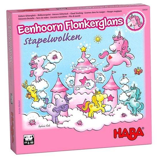 Haba Spel Eenhoorn Flonkerglans Stapelwolken - Haba