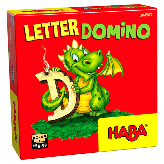 Haba Learning game Letter Dominoes - Haba