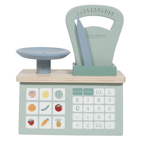 Little Dutch Wooden weighing scales - Little Dutch