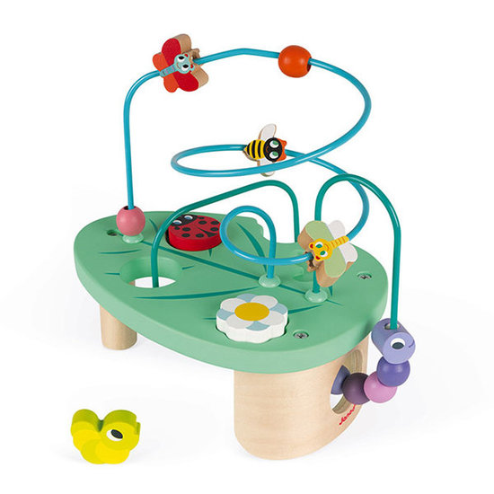 Janod speelgoed Kralenbaan Looping Rups & Co - Janod