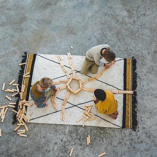 Tapis Petit Tapijt Etnic Ocher 120 x 170 cm - Tapis Petit