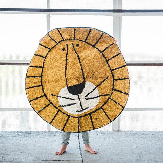 Tapis Petit Tapijt Lion 100 x 100 cm - Tapis Petit
