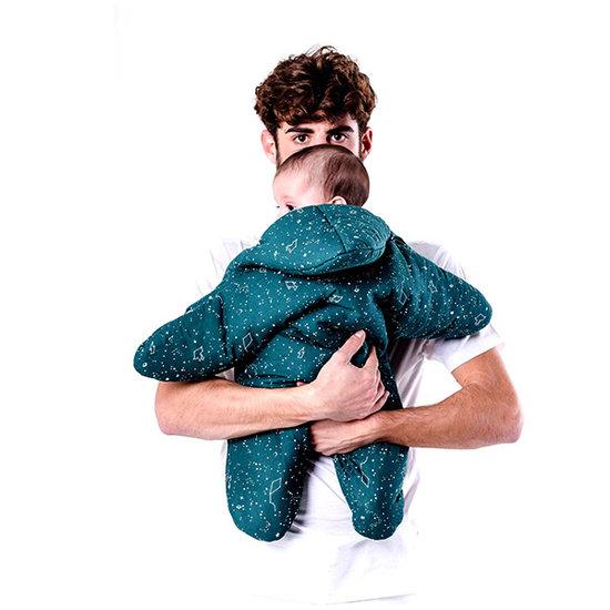 Baby Bites Slaapzak ster Esmerald green - Baby Bites